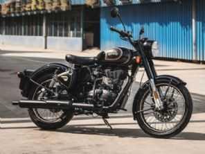 Royal Enfield venderá 120 unidades da Classic 500 Tribute Black no Brasil