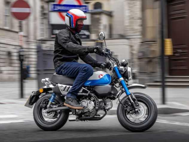 Honda Monkey, a minimoto japonesa, ganha novidades
