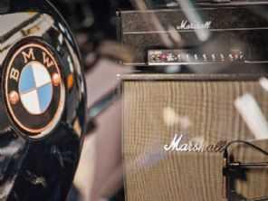 BMW anuncia parceria inédita com a Marshall, empresa de amplificadores