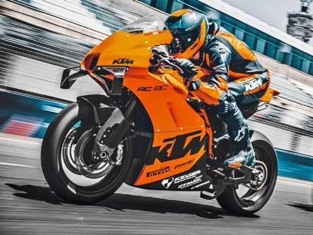 KTM lança a esportiva para pista RC 8C com preço na casa dos R$ 200 mil