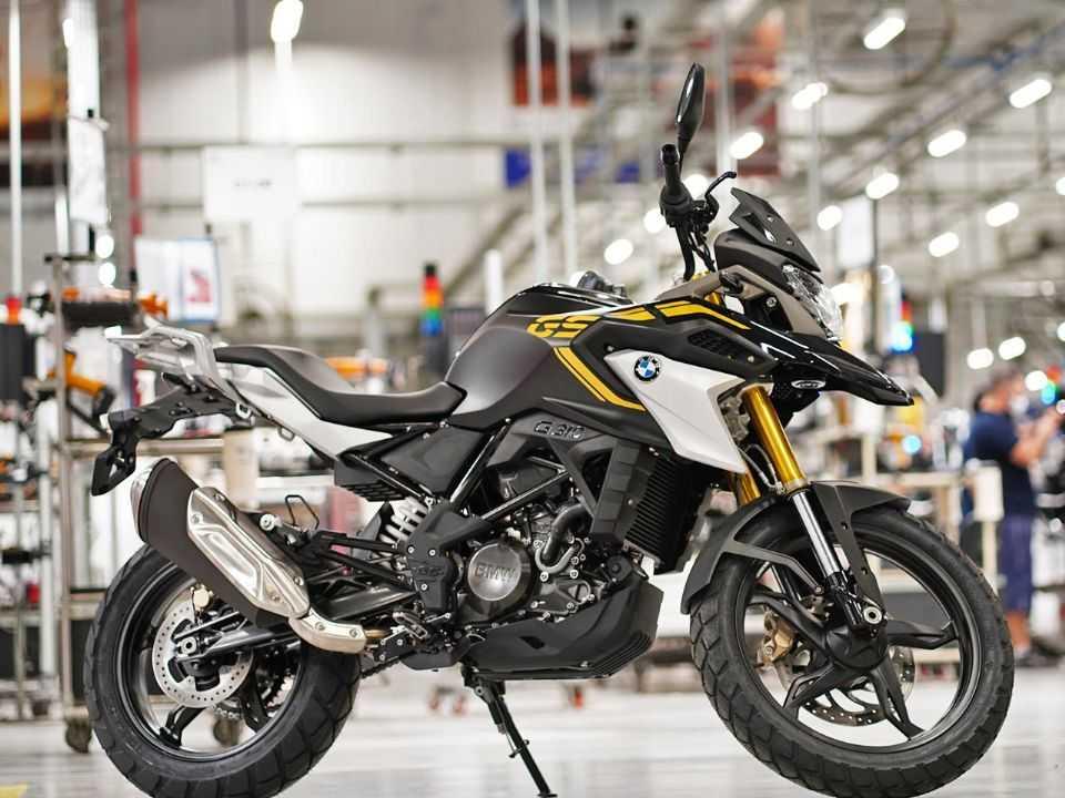 A nova G 310 GS na fábrica da BMW em Manaus