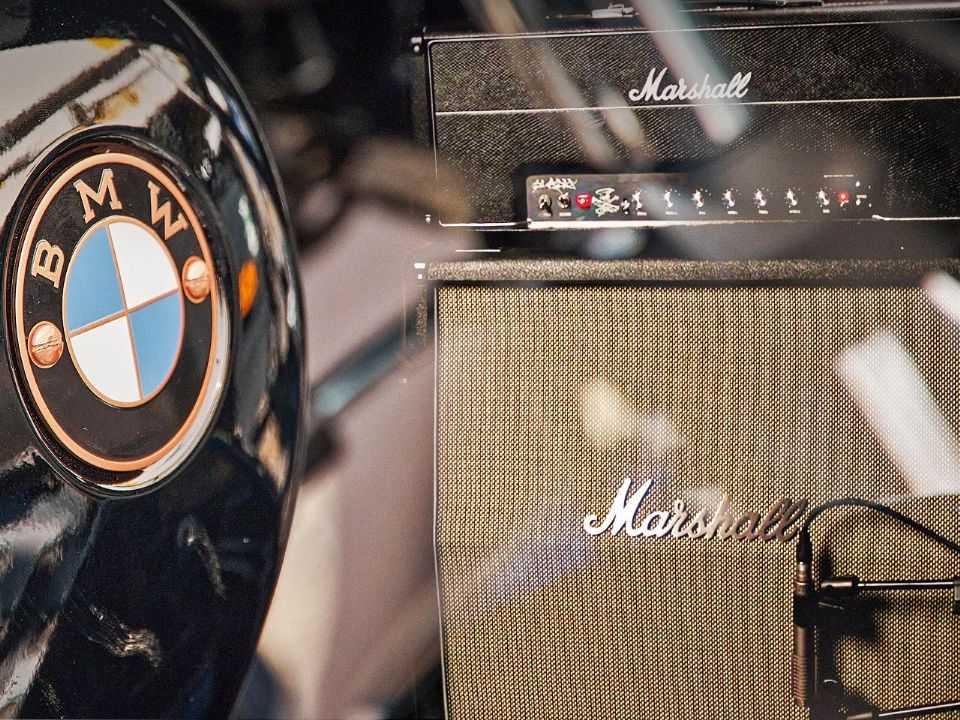 BMW Motorrad e Marshall Amplification