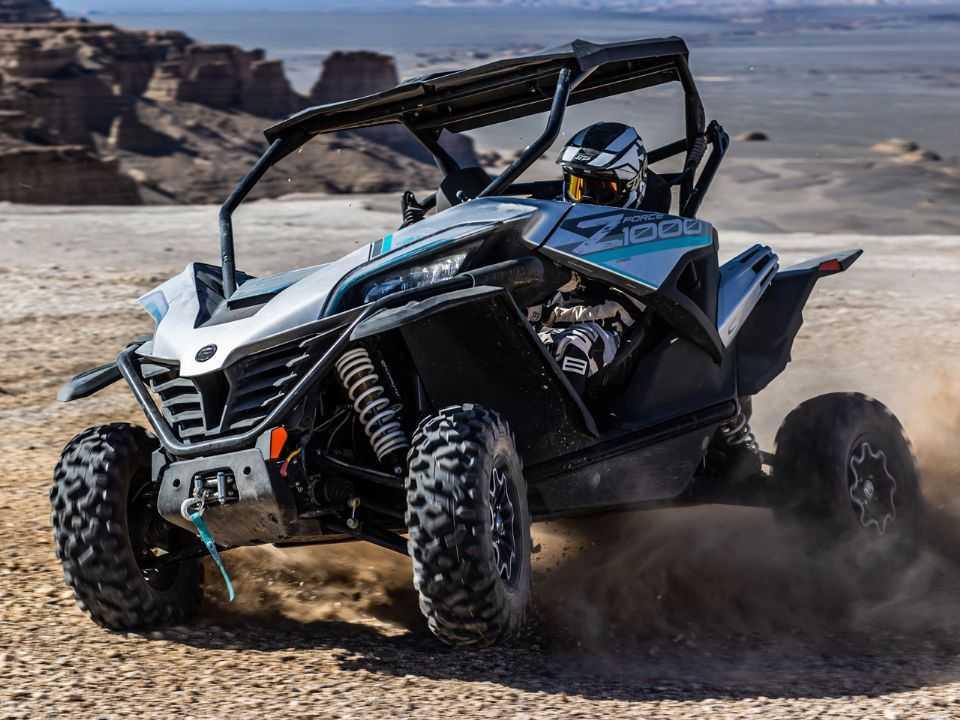 O quadriciclo Z1000 Sport