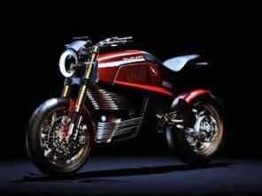 860-E concept, uma Ducati elétrica imaginada pela Italdesign