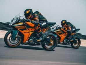 KTM apresenta sua nova linha de motos esportivas RC