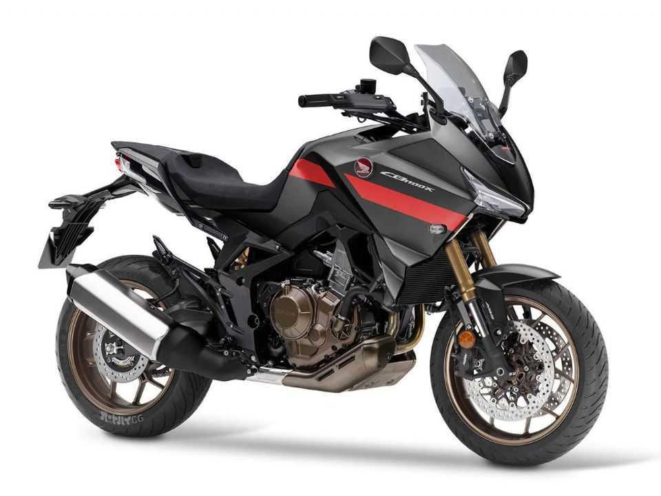 Projeção da futura Honda NT1100