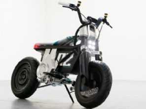 BMW CE 02 é conceito elétrico voltado para jovens