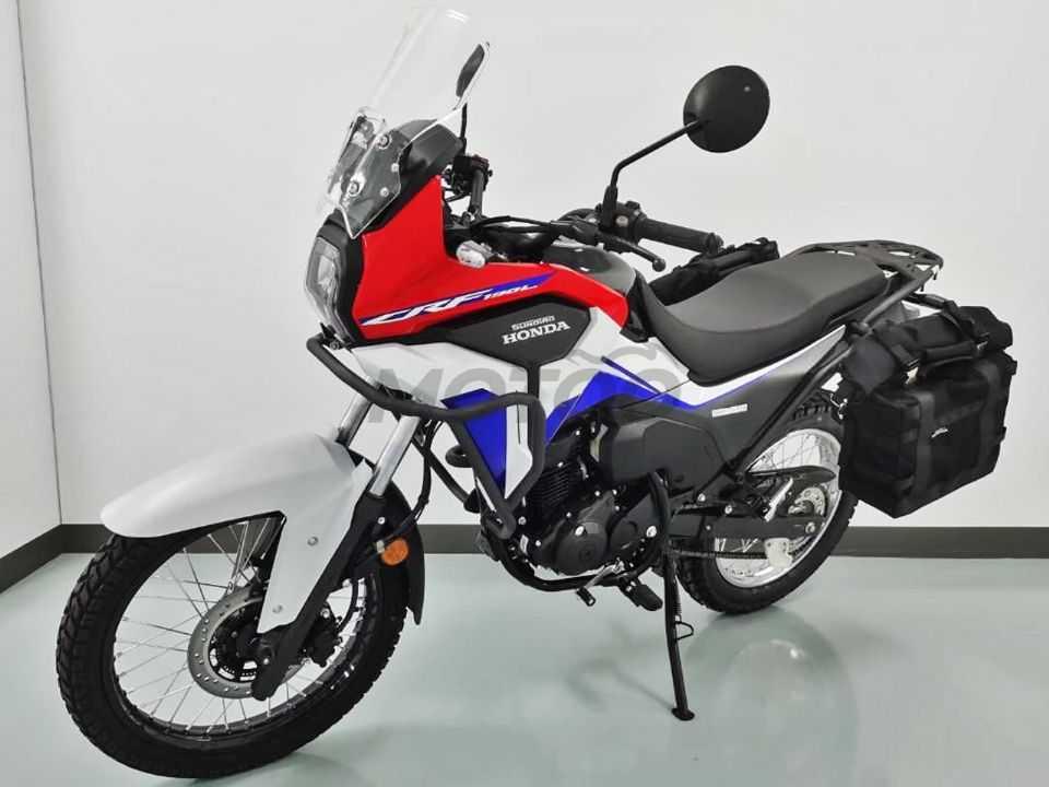 A nova CRF 190 L: aventureira acessível para os chineses